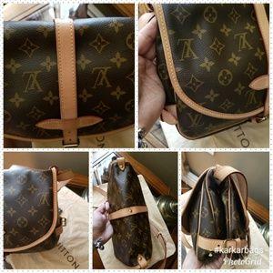 Louis Vuitton Bags - Authentic Louis Vuitton Saumur 30